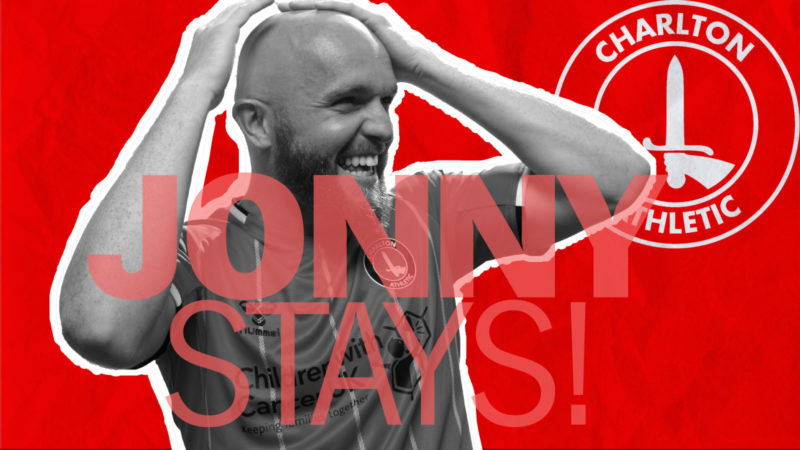 Jonny Williams signs contract extension with Charlton Athletic