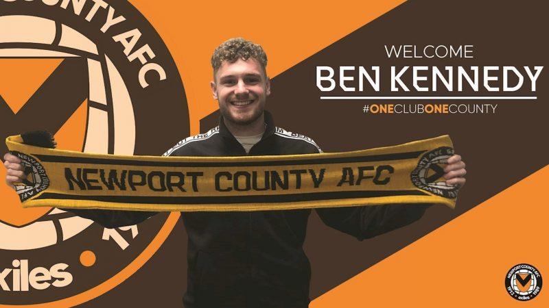 Ben Kennedy joins Newport County on loan