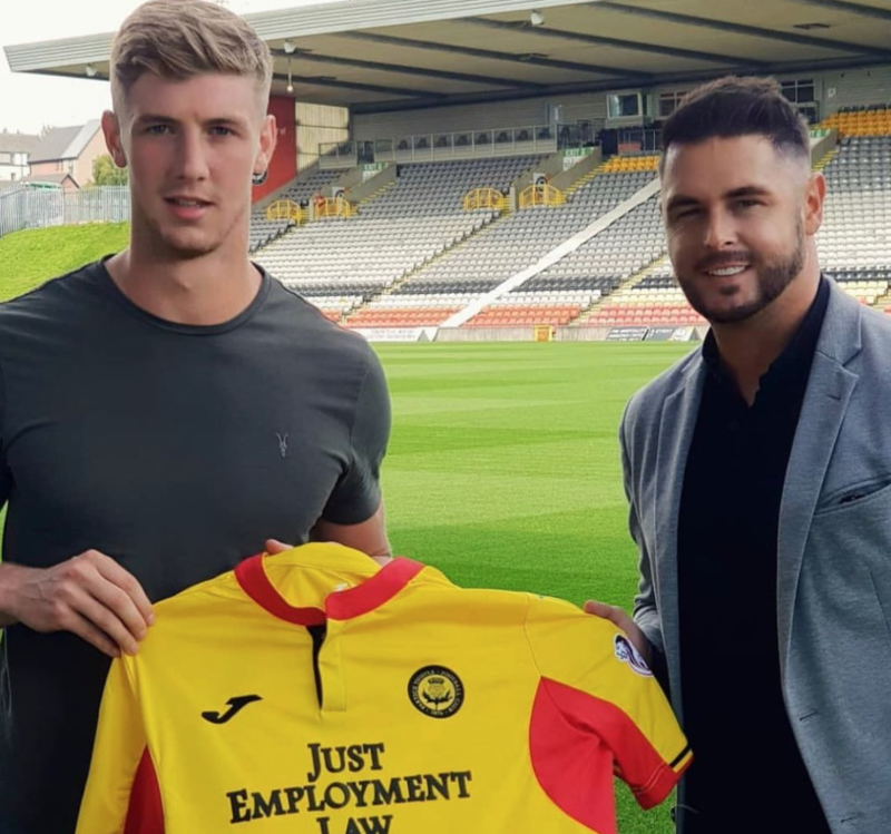 Ben Hall Joins Partick Thistle