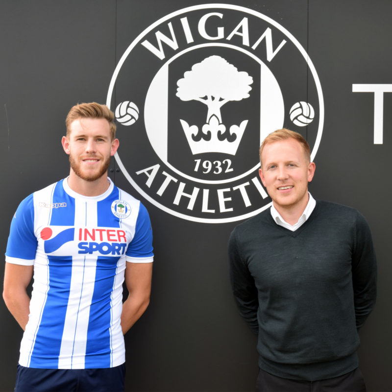 Callum Elder signs on loan with Wigan Athletic