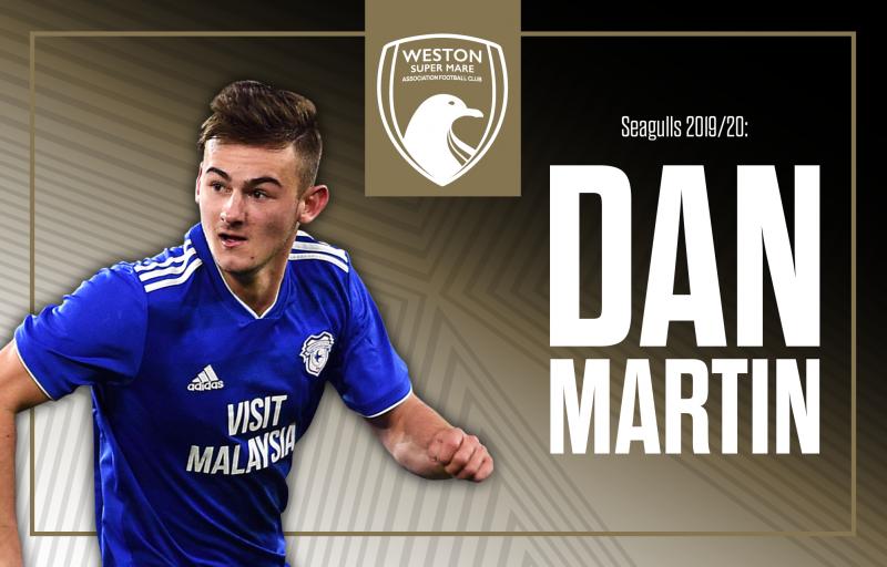 Dan Martin joins Weston Super Mare on loan