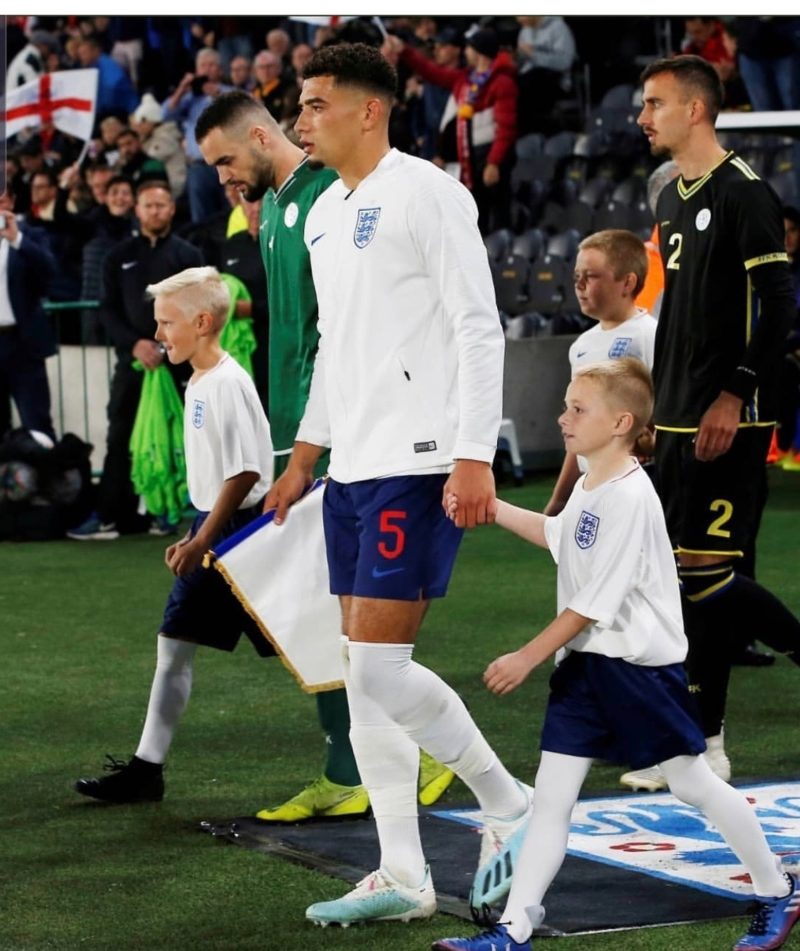 Ben Godfrey Captains England under 21s against Kosovo