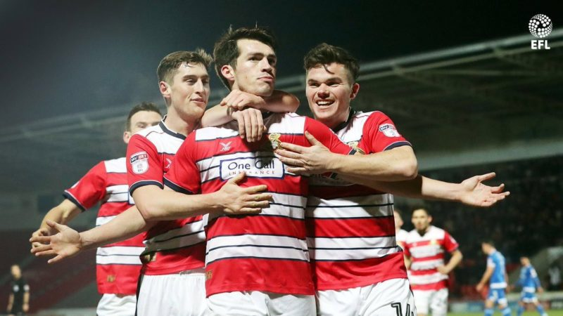 New Era client John Marquis named in EFL League Two team of the year and nominated for player of the season
