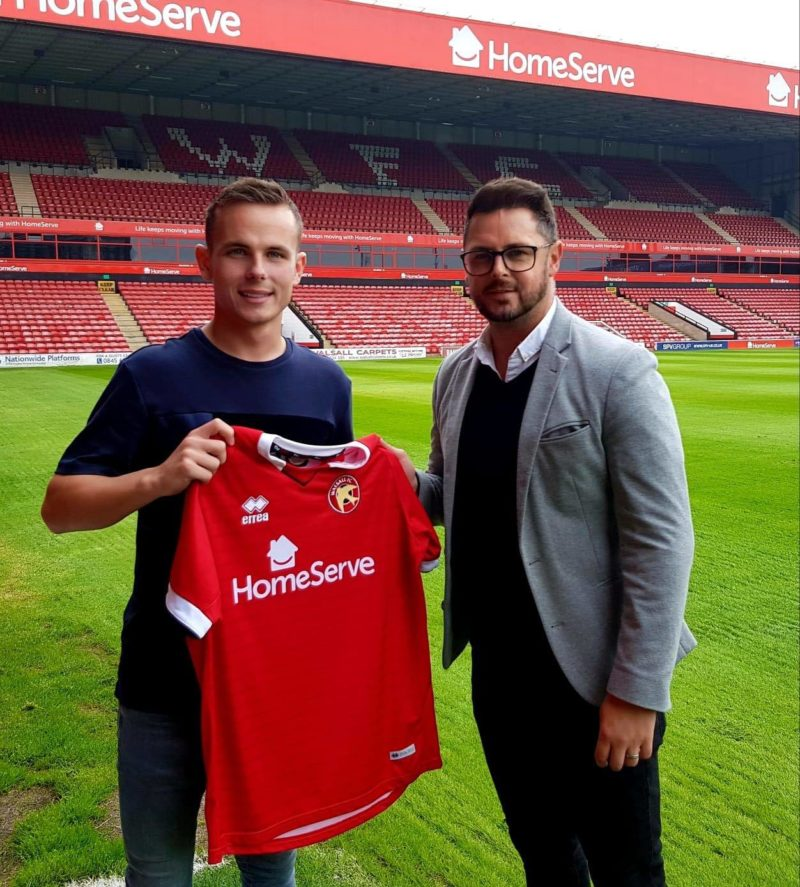 Liam Kinsella Signs New Two-Year Contract at Walsall