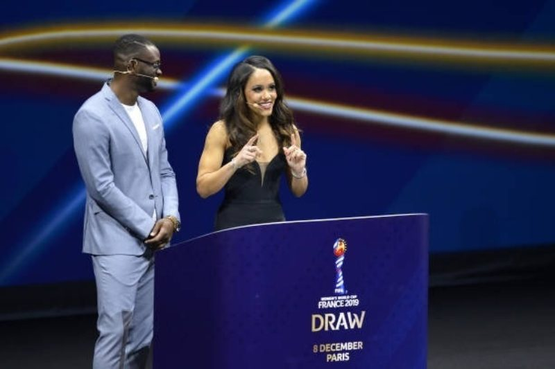 Alex Scott Draw Conductor for the 2019 FIFA Women's World Cup Draw