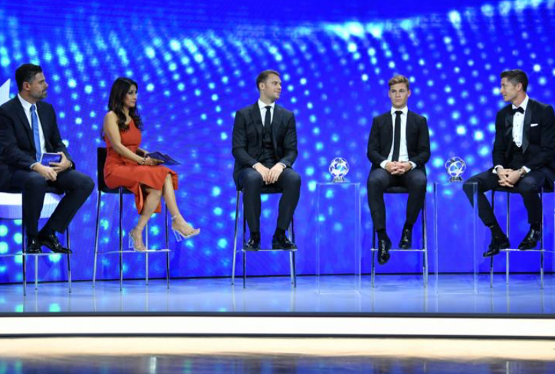 Reshmin Chowdhury Hosts UEFA Champions League draw for the Fourth Consecutive Year