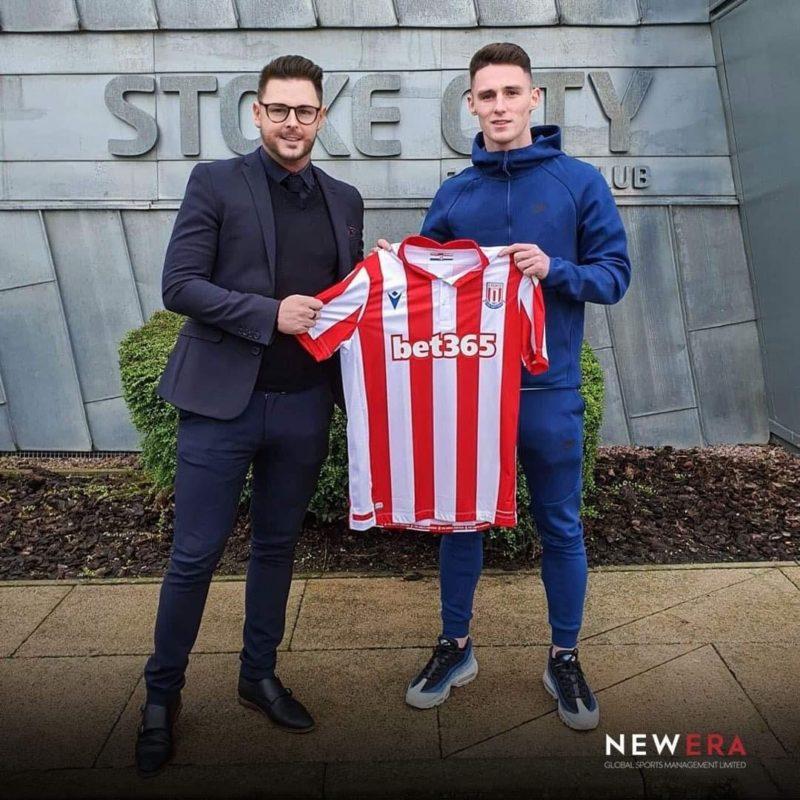Jordan Thompson Joins Stoke City