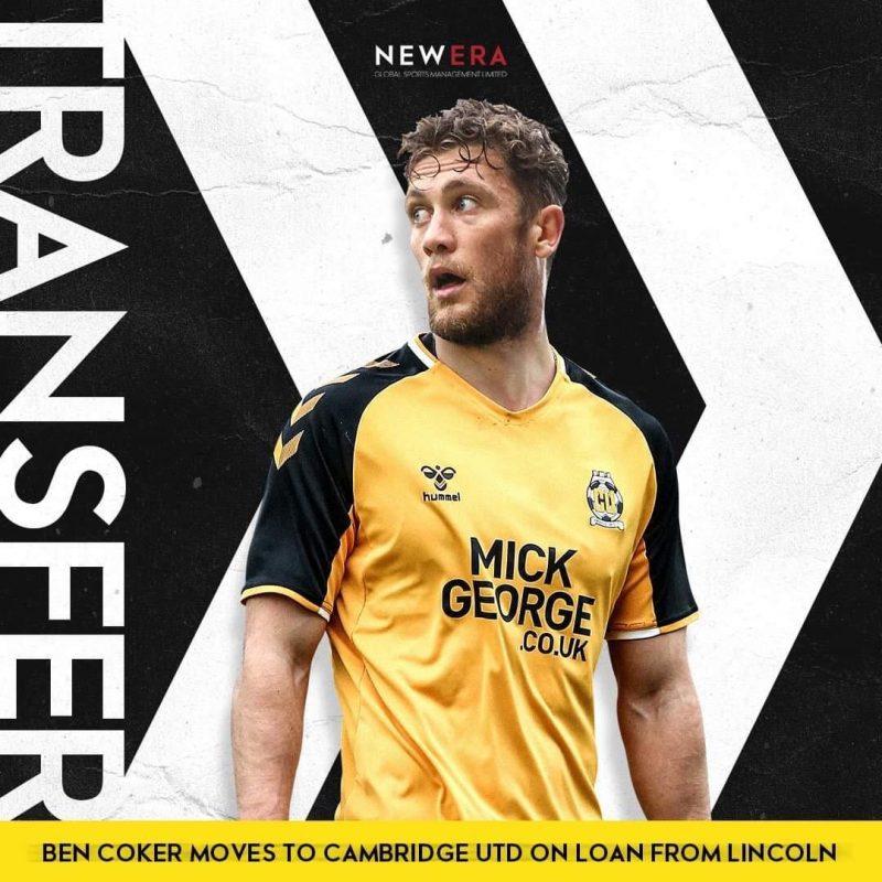 Ben Coker Joins Cambridge United on Loan