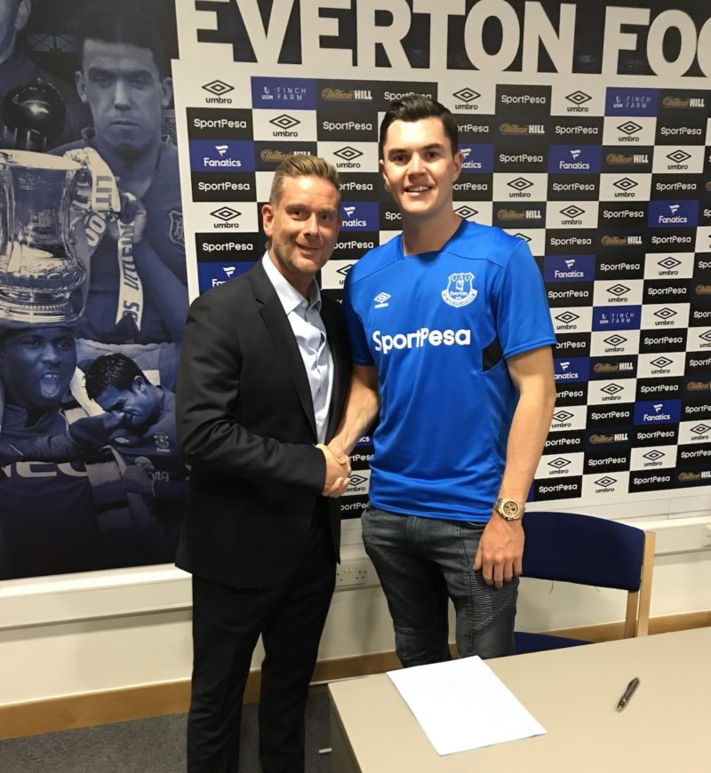 Michael Keane makes record-equalling move to Everton