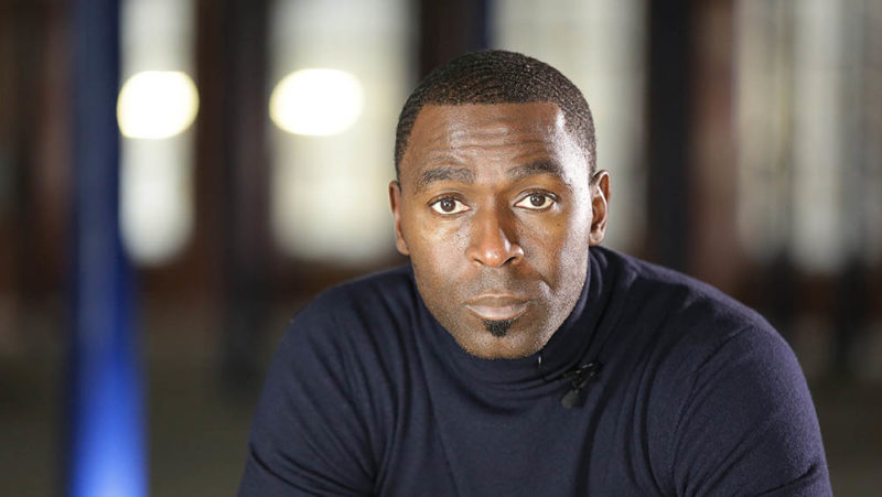 Andy Cole on ITV's Sports Life Stories